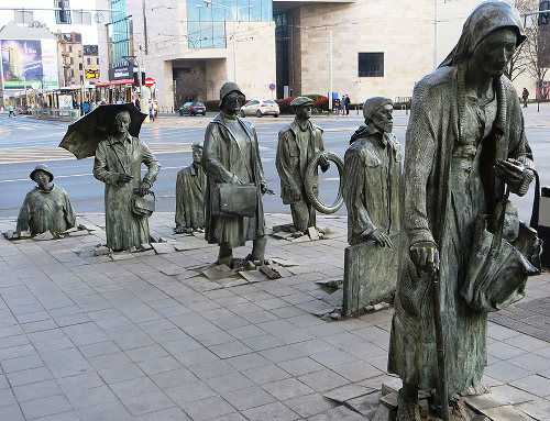 The Monument of an Anonymous Passerby, Wroclaw, Poland